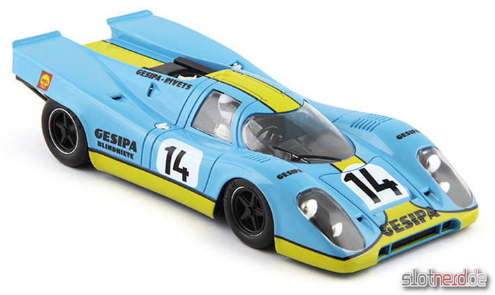 Porsche 917K Gesipa Racing Team #14 1000 Km Monza 1970 - SW Shark 20K