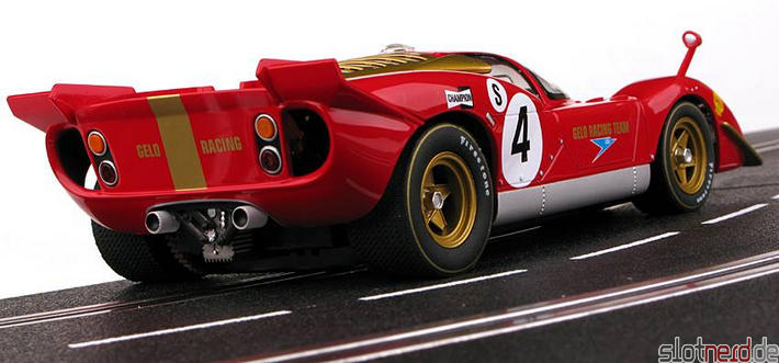 Carrera - FERRARI 512S BERLINETTA NO.4 (23798) hinten