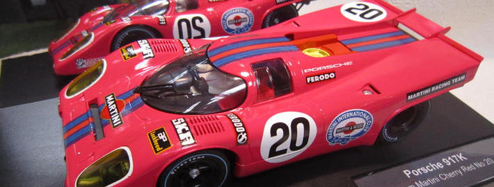 D124 Porsche 917K Cherry Red Martini