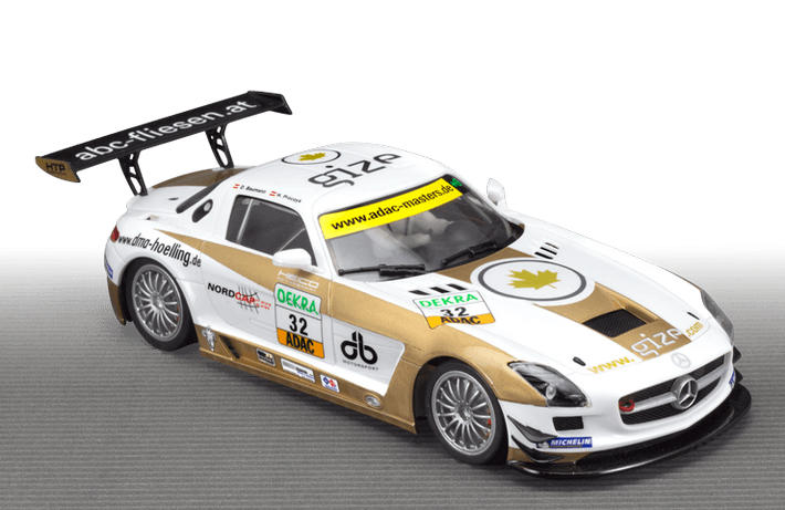 scaleauto mercedes sls amg gt3 gize team sc 7028. Black Bedroom Furniture Sets. Home Design Ideas