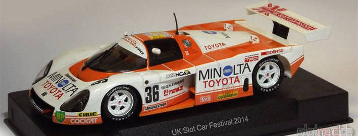 Slot.it - Toyota 88C UKSCF Special Edition