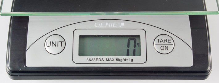 Genie 3623 EDS Display