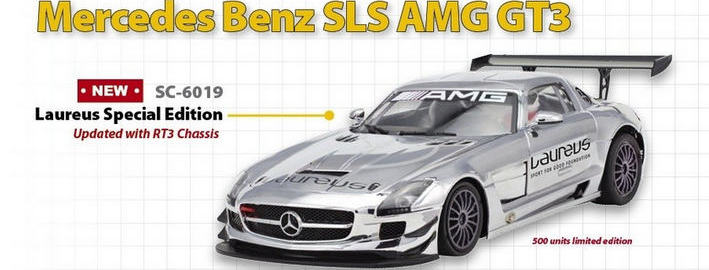 Scaleauto - Mercedes SLS GT3 Laureus Limited (SC-6019)