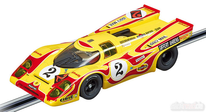 "Carrera DIGITAL 124 Porsche 917K Nr. 2 ""Hippie"" (23806)"