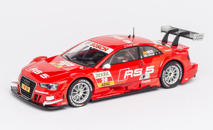 Carrera Digital 132 - Audi RS5 DTM M. Molina (30674)