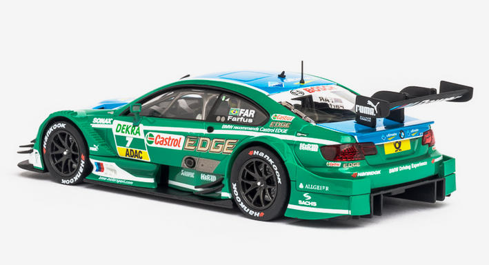 Carrera Digital 132 - BMW M3 DTM A. FARFUS, No.7 (30673) - hinten