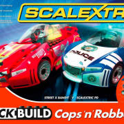 Scalextric - Quick Build Cops 'n Robbers Set (C1323T)