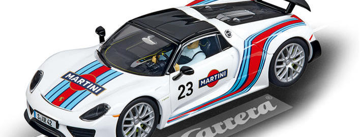 Carrera Digital 132 - Porsche 918 Spyder Martini Racing No.23 (30698)