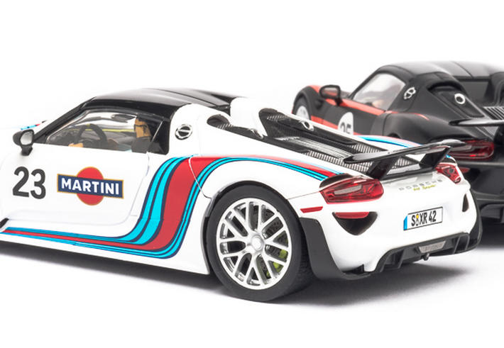 Carrera Digital 132 - Porsche 918 Spyder Martini Racing No.23 (30698) - von hinten