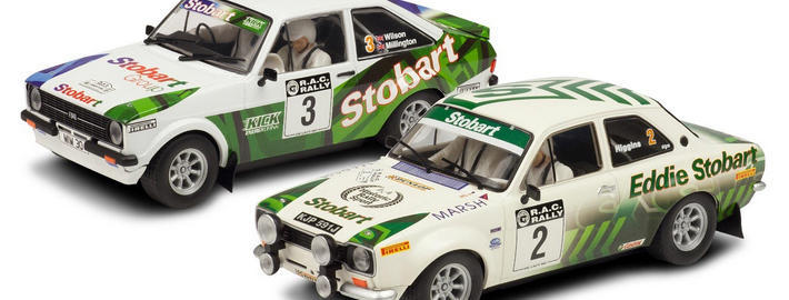 Scalextric - Ford Escort MkI und Ford Escort MkII Limited Edition (C3369A)