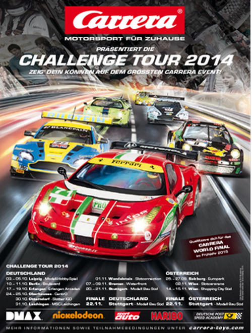 Carrera Challenge Tour 2014 - Flyer