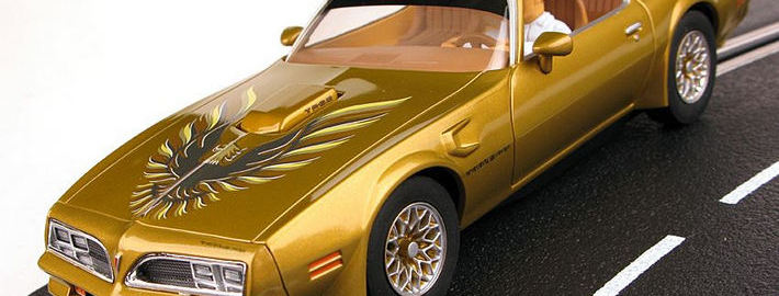 Carrera -Pontiac Trans Am in Gold