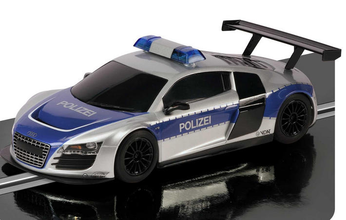 Scalextric - Audi R8 Police Car (C3374) am Track