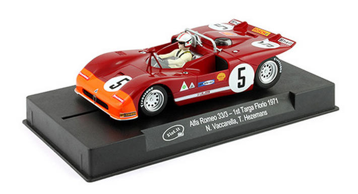 Slot.it - Alfa Romeo 33/3 Targa Florio Winner 1971 (SICA11f) - display