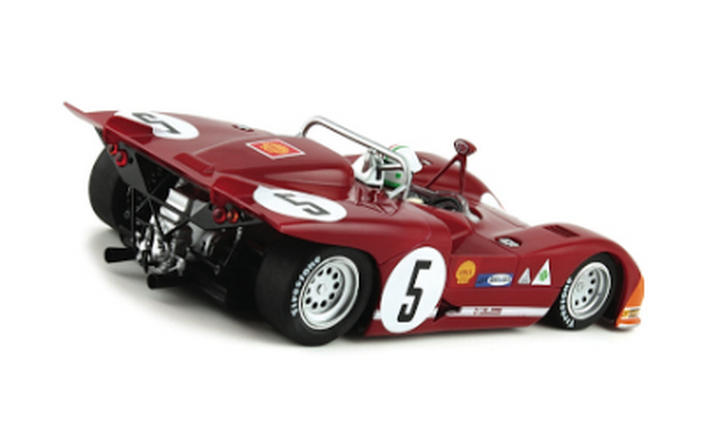 Slot.it - Alfa Romeo 33/3 Targa Florio Winner 1971 (SICA11f) - hinten