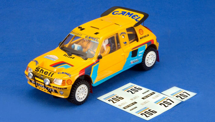 MSC - Peugeot 205 T16 Grand Raid Camel (MSC-7402) - Decals