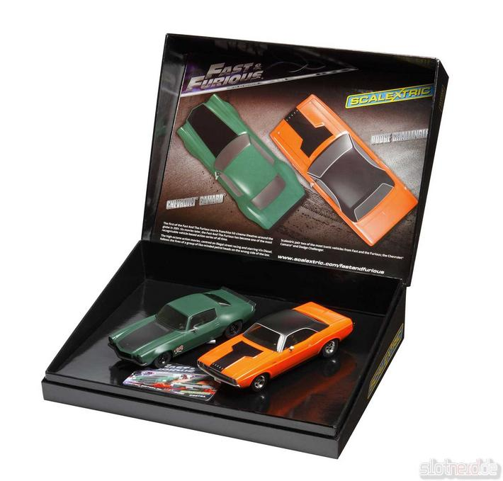 Scalextric - Fast & Furious Twin Pack (C3373A) Box offen