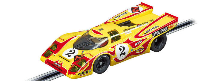 "Carrera DIGITAL 124 - Porsche 917K Nr. 2 ""Hippie"" (23806)"