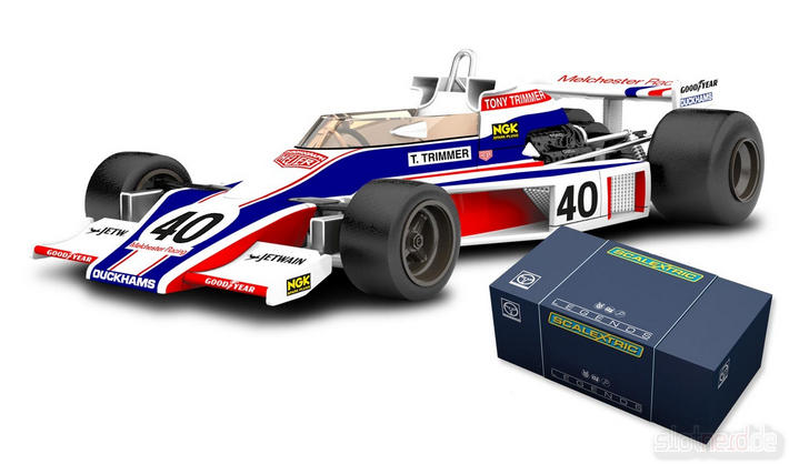 Scalextric - Legends McLaren M23 Limited Edition (C3414A) - mit Box