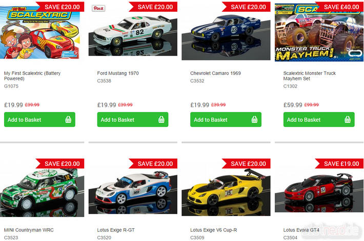 Scalextric Black Friday Angebote