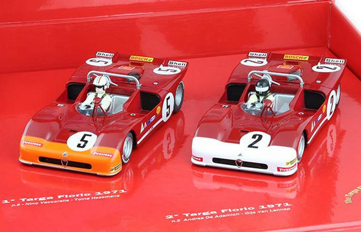 Slot.it - Targa Florio Winner 1971 Box (CW15-box) mit Autos