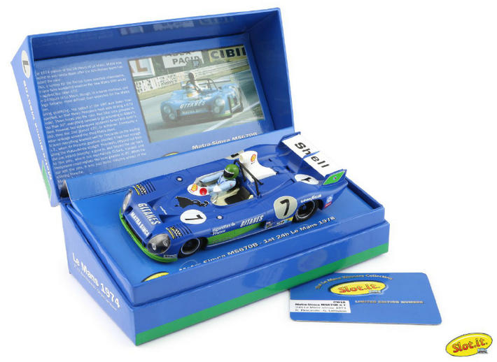 Slot.it - Matra-Simca MS 670B Le Mans Winner (SI-CW18) - Box