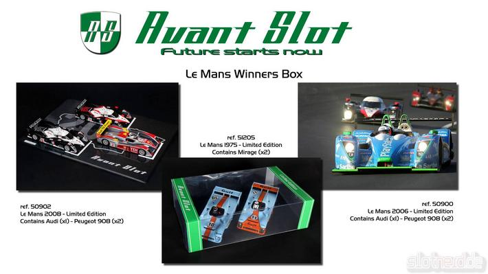Avant Slot - Le Mans Winners Box
