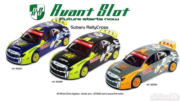 Avant Slot - Subaru Rally Cross