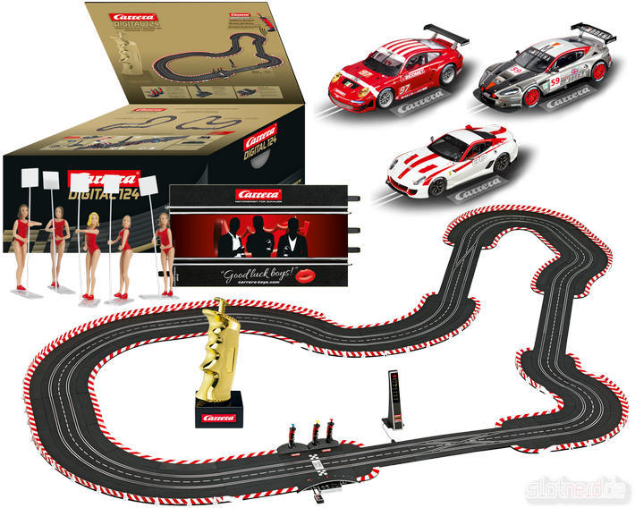 Carrera Digital 124 Set - Gentlemen Race (23613) mit Zubehör