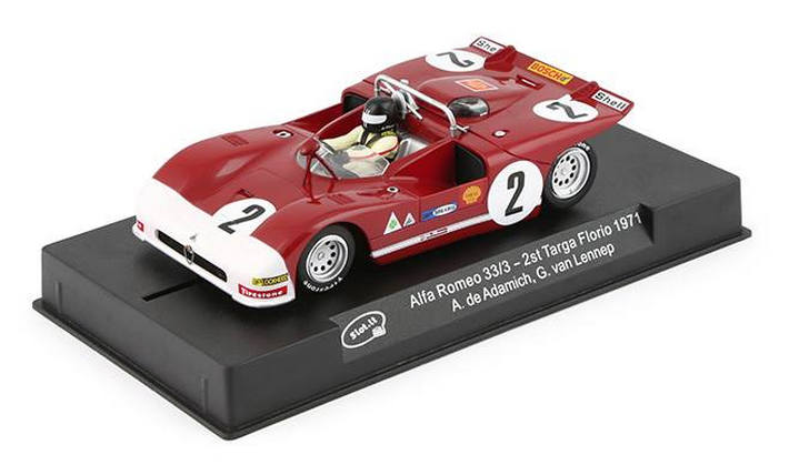 Slot.it - Alfa Romeo 33/3 - 2 Targa Florio 29171 (CA11g) am Display
