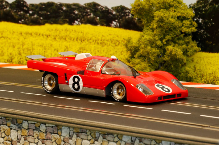 "BRM - 512 ""RED EDITION"" - KIT (BRM036-R) Startnummer 8 von Detlef"