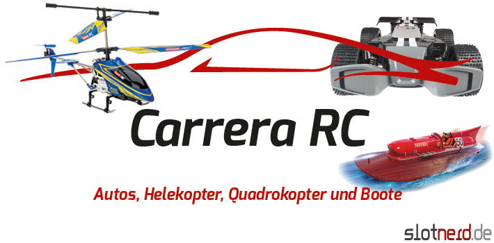 Carrera RC - Autos, Helikopter,  Quadrokopter und Boote