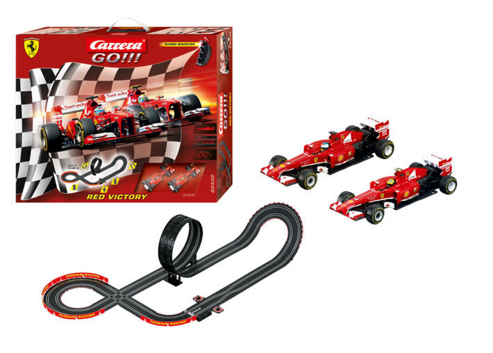 Carrera GO!!! - Red Victory Set (62339) Inhalt