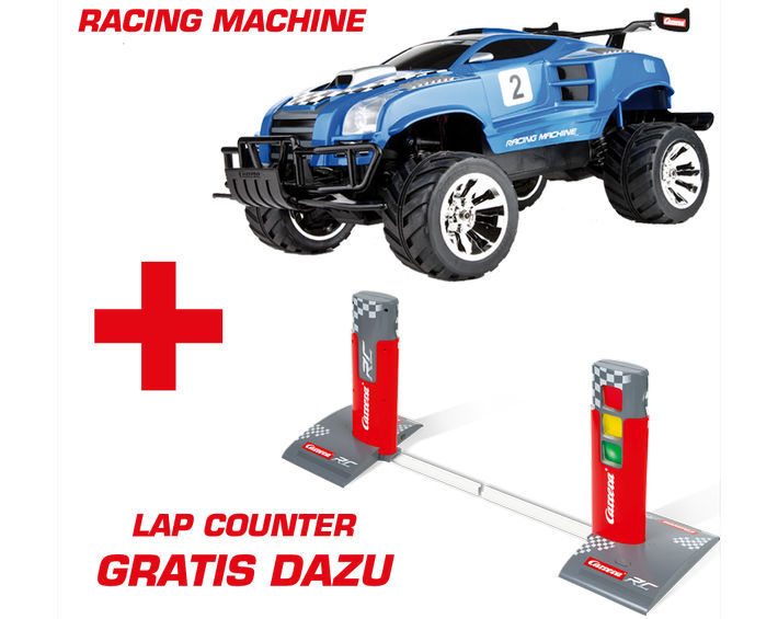 Carrera RC - Racing Machine mit Lap-Counter