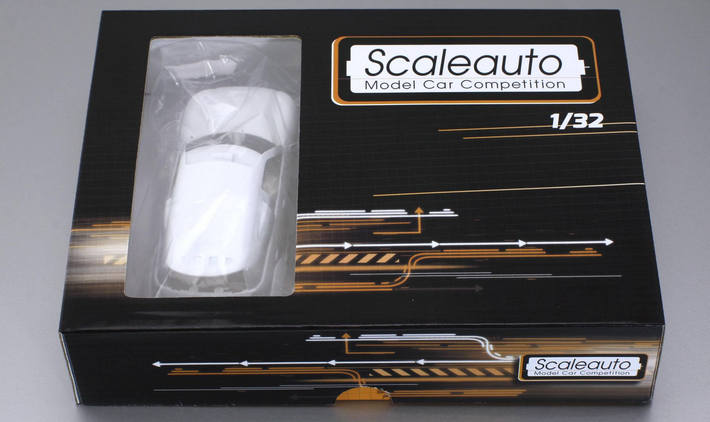 Scaleauto - Mini X-Raid All4 Racing White Kit (SC-3615) Generic Box