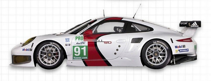 Scaleauto - Porsche 991 Manthey Racing