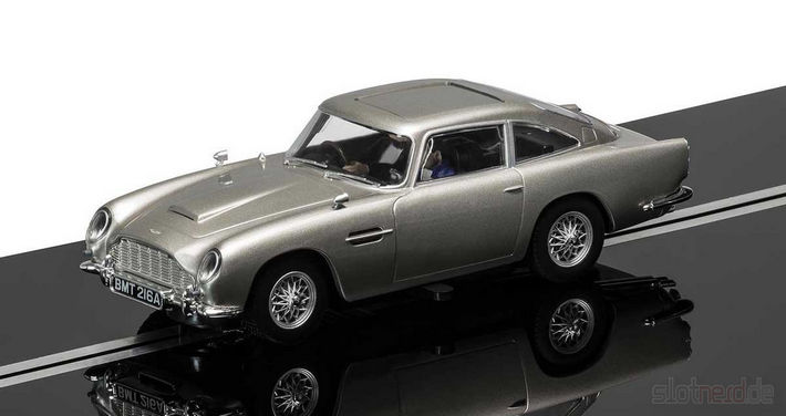 James Bond Aston Martin Slot Car