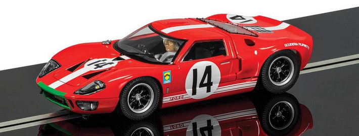 Scalextric - Ford GT40 Nr. 14 Le Mans 1966 (C3630)