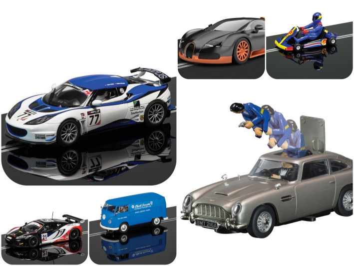 Scalextric Slotcars best of