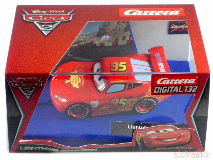 Carrera - Lightning McQueen in der Box