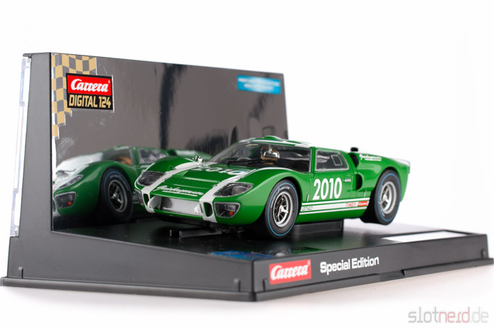 Carrera - Ford GT 40 MkII Gaisbergrennen 2010 (23752) im Display 2