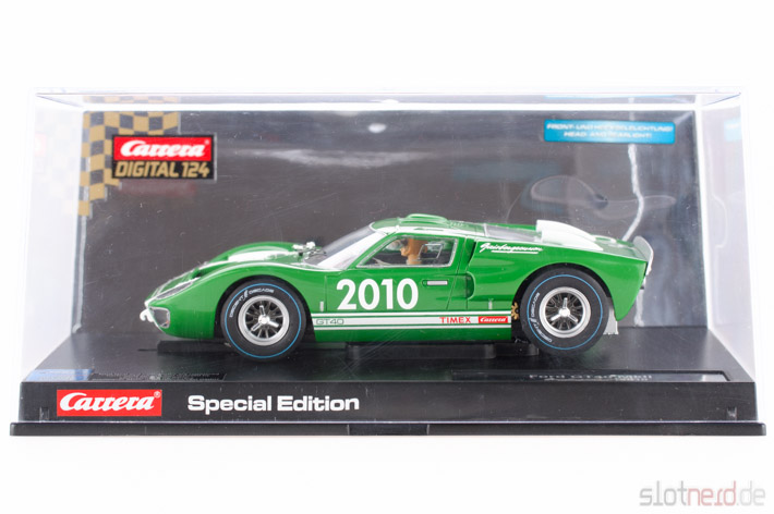 Carrera - Ford GT 40 MkII Gaisbergrennen 2010 (23752) im Display