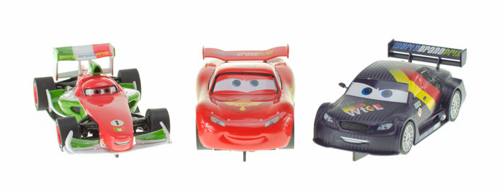 Disney Cars 2 Helden