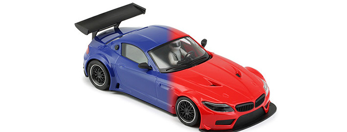 NSR - BMW Z4 Blue and Red TRIANG