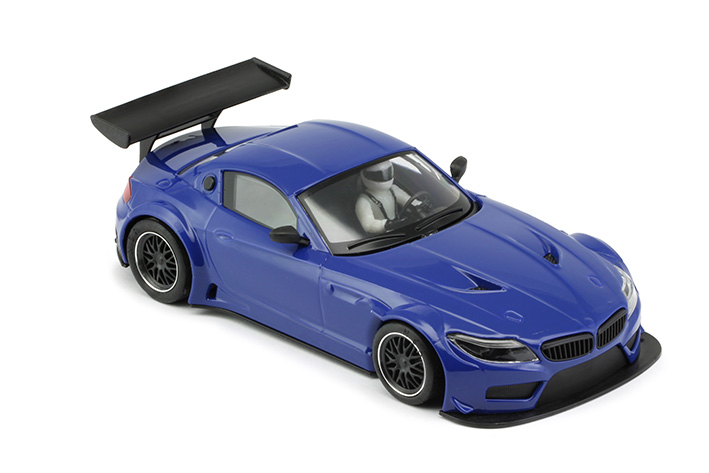 NSR - BMW Z4 - E89 Test Car Blue TRIANG - AW King EVO3 (1195AW)