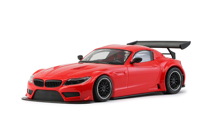 NSR - BMW Z4 - E89 Test Car Red TRIANG - AW King EVO3 (1194AW) - seitlich