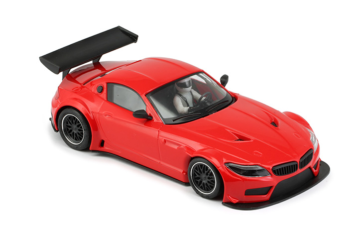 NSR - BMW Z4 - E89 Test Car Red TRIANG - AW King EVO3 (1194AW)