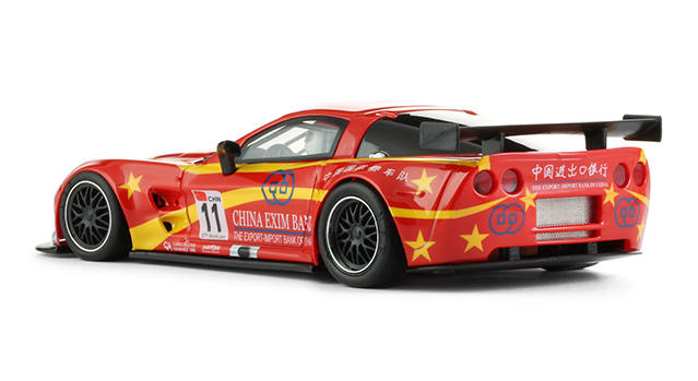 NSR - Corvette C6R - Exim Bank Team China #11 (1191AW) hinten