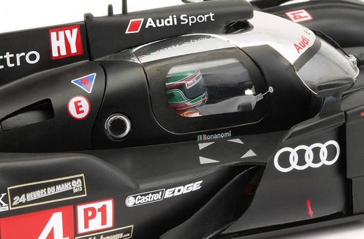 Slot.it - Audi R18 e-tron quattro #4 (CA29a) Cockpit