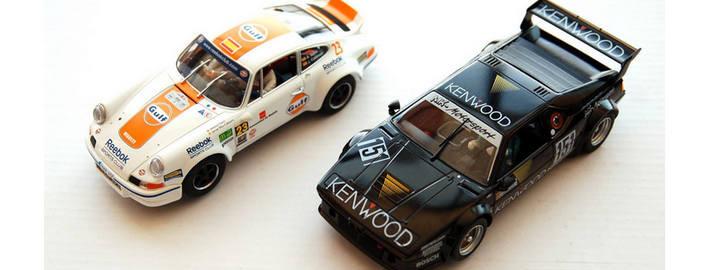 Flyslot - BMW M1 (051105) und Porsche 911 (036106)